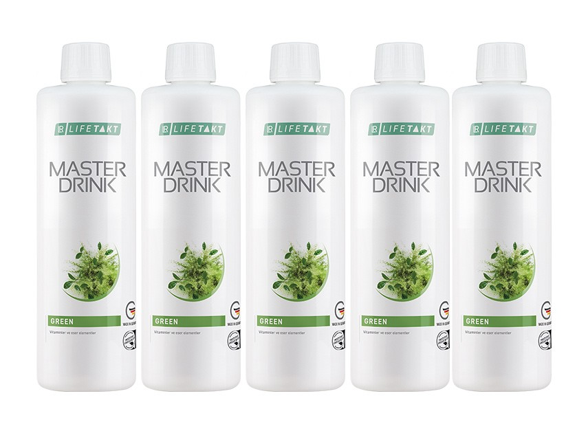 LR Master Drink Formula Green 5'li Set (Mind Master)